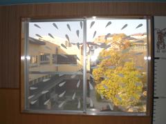 某幼稚園様 ガラス装飾